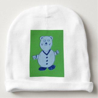 マイクの赤ん坊のウサギの皮の綿の肋骨の乳児の帽子 ベビービーニー