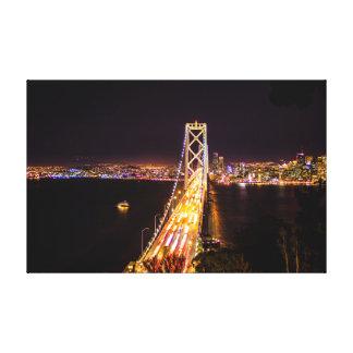マイクキラー都市橋キャンバス#2 キャンバスプリント