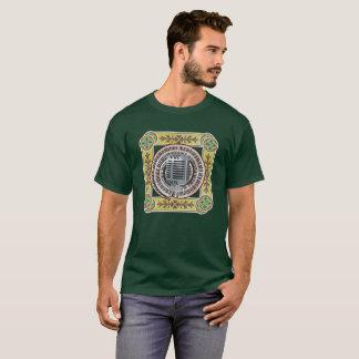 マイクロフォンおよび音楽キーボード Tシャツ