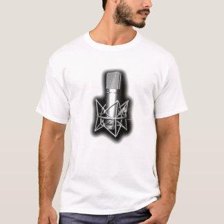 マイクロフォンのフリースタイルのワイシャツ Tシャツ