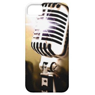 マイクロフォンの箱カバー iPhone SE/5/5s ケース