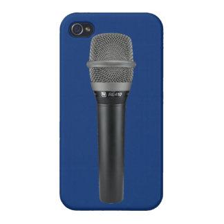 マイクロフォンのiPhoneの場合 iPhone 4/4S Case