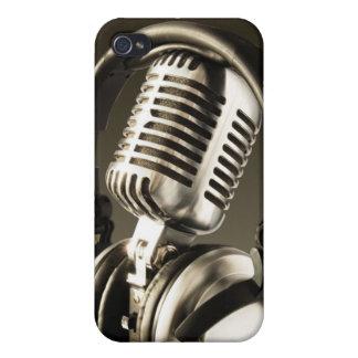 マイクロフォン及びヘッドホーンiPhone4の箱カバーiphone 4 iPhone 4 Cover