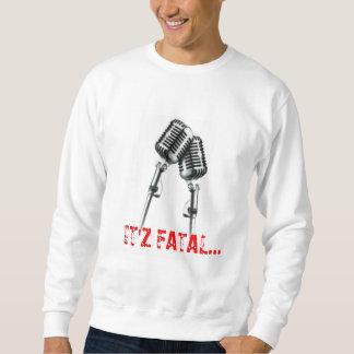 マイクロフォン、致命的なIT'Z… スウェットシャツ
