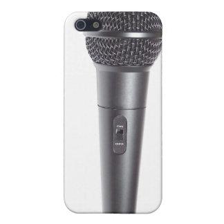 マイクロフォン iPhone 5 カバー