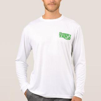 マイクロ繊維の通りの三倍のTシャツ Tシャツ
