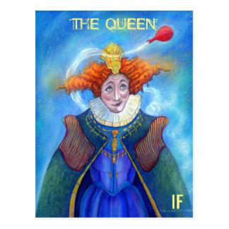 マイクWinterbauer著作の女王の郵便はがき ポストカード