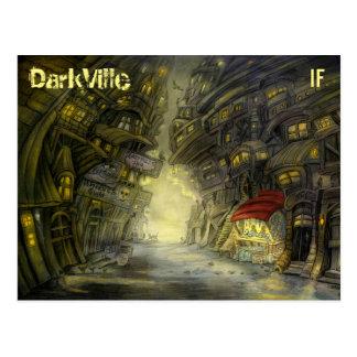 マイクWinterbauer著作のDarkVilleの郵便はがき ポストカード