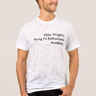 マイクWright'sKung Fuの熱狂者アカデミー Tシャツ