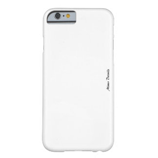マイナーな詳細の電話箱Iphone 6/6s Barely There iPhone 6 ケース