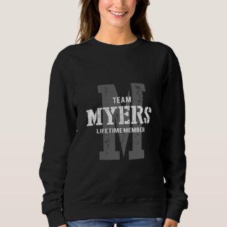 マイヤーズのためのおもしろいなヴィンテージのスタイルのTシャツ スウェットシャツ
