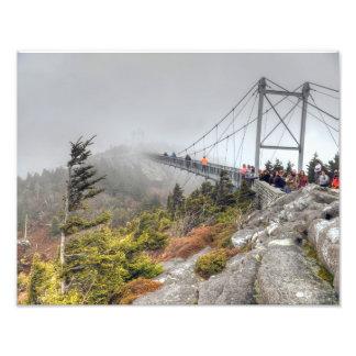 マイルの高い旋回橋 フォトプリント