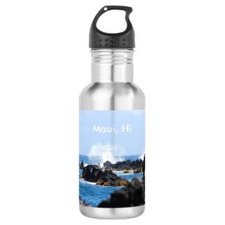 マウイの海岸の波 ウォーターボトル