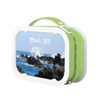マウイの海岸の波 ランチボックス