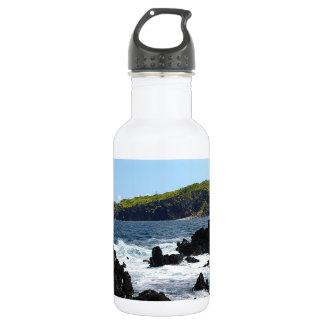 マウイの海岸の火山岩 ウォーターボトル