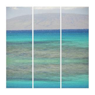 マウイの海岸 トリプティカ