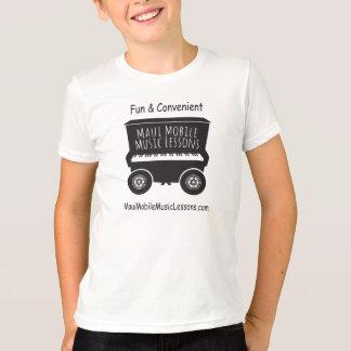 マウイの移動式音楽のレッスンの子供のTシャツ Tシャツ