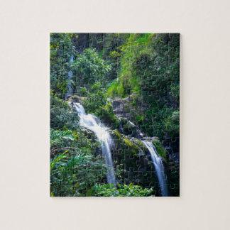マウイハワイの滝 ジグソーパズル