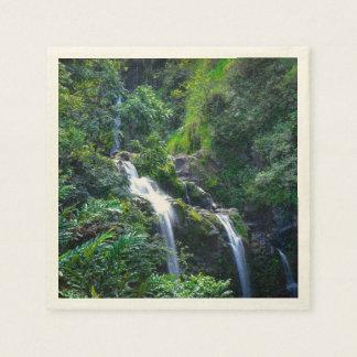 マウイハワイの滝 スタンダードカクテルナプキン