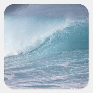 、マウイ衝突する、青い波ハワイ、米国2 スクエアシール