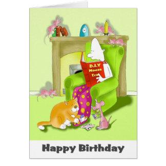 マウスのトラップの誕生日 カード