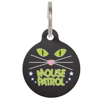 マウスのパトロールのペット用名札 ペットタグ
