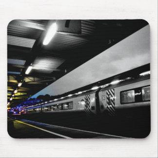 マウスのマットを着色する列車 マウスパッド