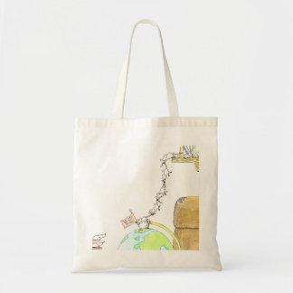 マウスの写真のバッグ トートバッグ