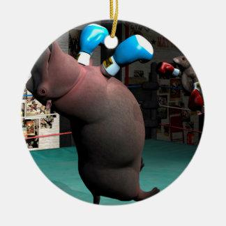マウスはカバKOを打ちます セラミックオーナメント