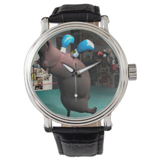 マウスはカバKOを打ちます 腕時計