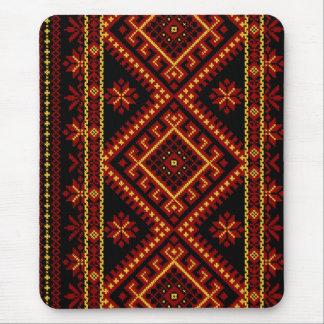 マウスパッドのウクライナの十字のステッチの刺繍 マウスパッド