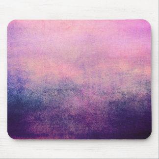 マウスパッドのグランジなヴィンテージのピンクのバイオレットの質 マウスパッド