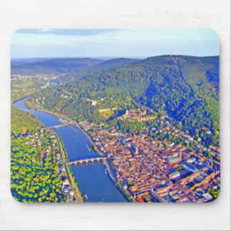 マウスパッドのハイデルベルクの空中写真 マウスパッド