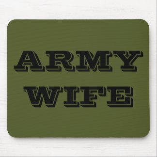 マウスパッドの軍隊の妻 マウスパッド