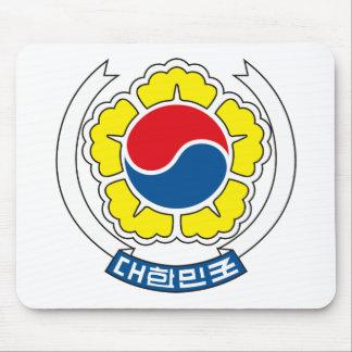 マウスパッド南朝鮮の紋章付き外衣 マウスパッド