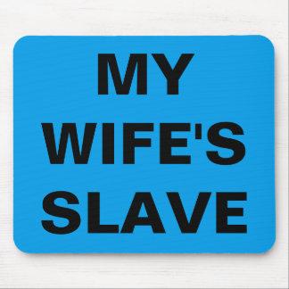 マウスパッド私の妻の奴隷 マウスパッド