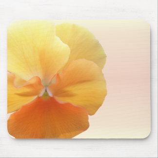 マウスパッド-オレンジパンジー マウスパッド