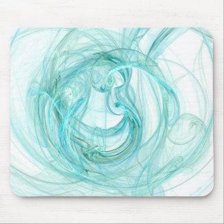 マウスパッド: 水のユニークで抽象的なフラクタルの芸術! マウスパッド
