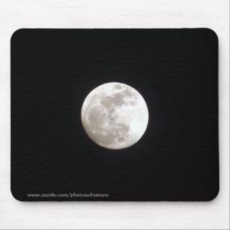 マウスパッド-澄んな夜空の満月 マウスパッド
