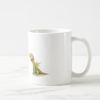 マウス及び共通の家のドラゴン コーヒーマグカップ