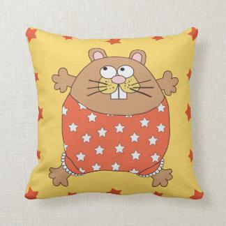 マウス及び星が付いている子供の枕 クッション