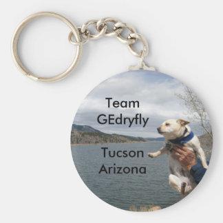 マウス、チームGEdryflyTucsonアリゾナ キーホルダー