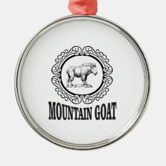 マウンテンゴートのリングや輪 メタルオーナメント