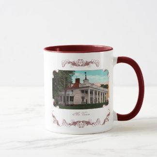 マウントバーノンのヴィンテージのコーヒー・マグ マグカップ