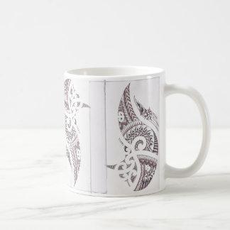 マオリの贅沢なデザイナー2 コーヒーマグカップ