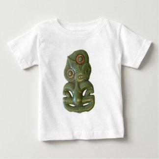 マオリのHei-Tikiの乳児のTシャツ ベビーTシャツ