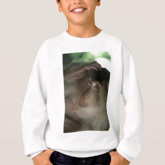 マカク属猿ボロネオ スウェットシャツ