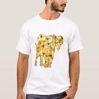 マカロニのヌードル象 Tシャツ
