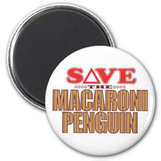 マカロニのペンギンの保存 マグネット