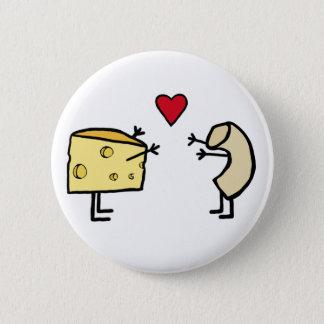 マカロニチーズ 缶バッジ